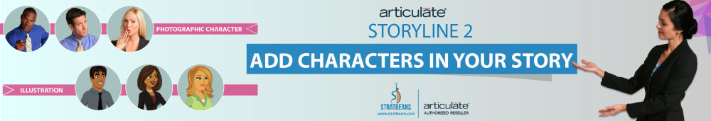 Articulate Storyline Characters