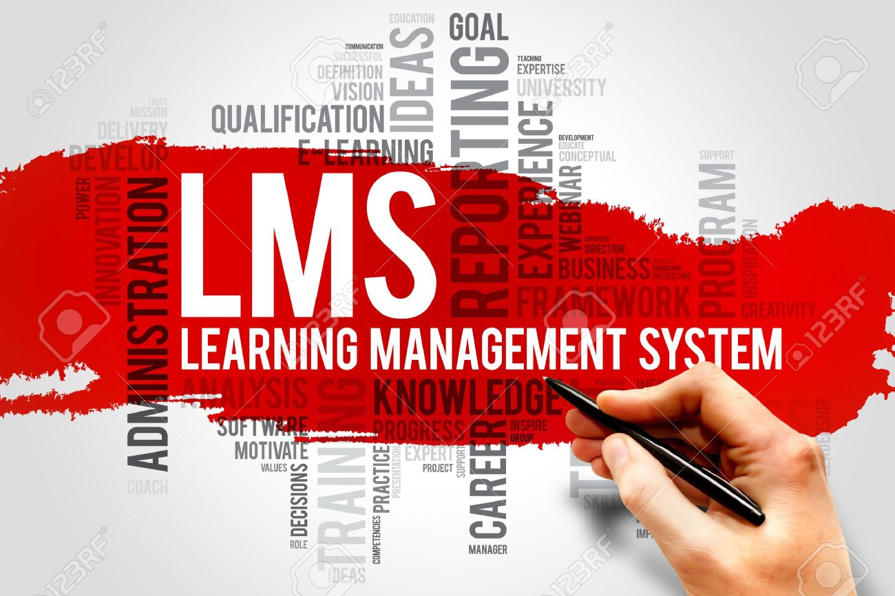 37586996-Learning-Management-System-LMS-word-cloud-business-concept-Stock-Photo